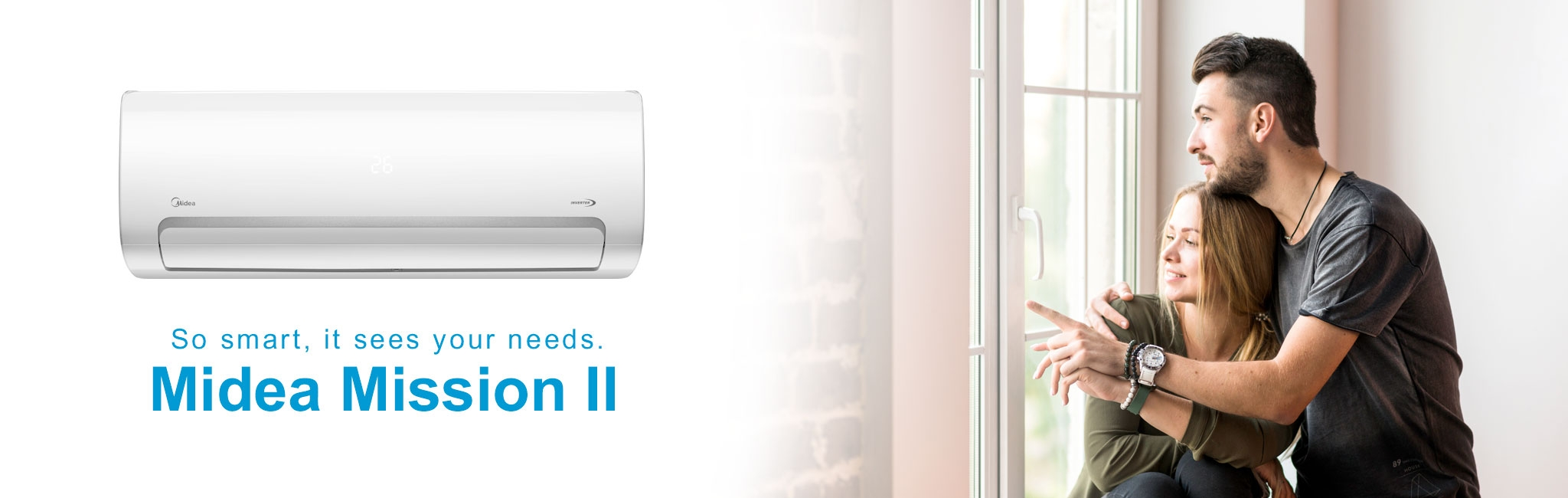 See the Midea MB-12N8D6-I Mission II Inverter Air Conditioner from MIDEA.BG